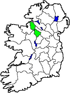 Map Of Ireland Knock Airport.Leitrim Genealogy Centre About County Leitrim Carrick On Shannon